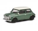 schuco Mini Cooper, grün weiß, 1:87