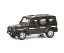 schuco Mercedes-Benz G-Model, black metallic, 1:87