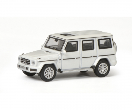 schuco Mercedes-Benz G-Modell, diamond white, 1:87