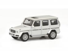 schuco Mercedes-Benz G-Modell, diamond white, 1:87