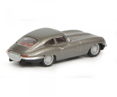 schuco Jaguar E-Type Coupé, grey, 1:87