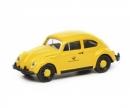 """schuco VW Käfer """"Deutsche Bundespost"""", gelb schwarz, 1:87"""