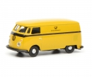 "schuco VW T1c box van ""Deutsche Bundespost"", yellow black, 1:87"