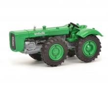 schuco Dutra D4K ohne Kabine, grün, 1:87
