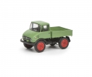 schuco Mercedes-Benz Unimog U406, light green, 1:87