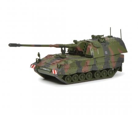 """schuco Self-propelled gun 2000 """"Bundeswehr"""", camouflaged, 1:87"""