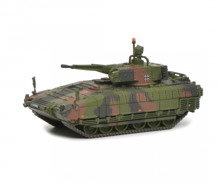 "schuco Puma infantry combar vehicle ""Bundeswehr"", camouflaged, 1:87"