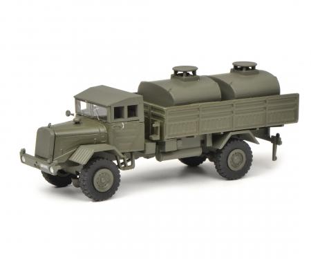 """schuco Mercedes-Benz LG 315 Tank truck """"Bundeswehr"""", 1:87"""