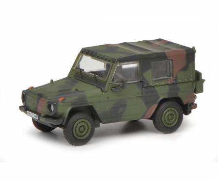 """schuco Wolf G """"Bundeswehr"""", camouflaged, 1:87"""