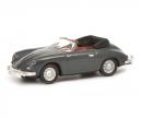 schuco Porsche 356 Cabrio, grey, 1:87