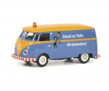 """schuco VW T1c box van """"VW Kundendienst"""", blue, 1:87"""