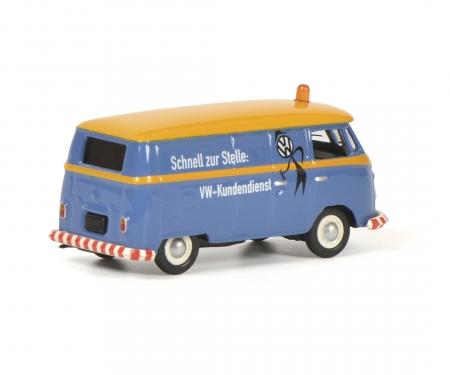 """VW T1c box van """"VW Kundendienst"""", blue, 1:87"""