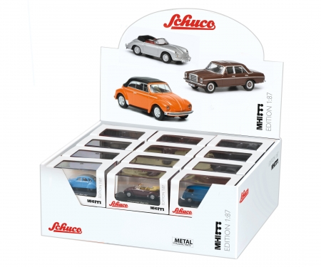 "Display 1:87/H0 ""MHI"" (24 models, 12 assorted)"