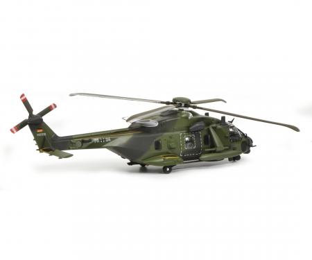 "schuco NH90 Helicopter ""Bundeswehr"", camouflaged, 1:87"