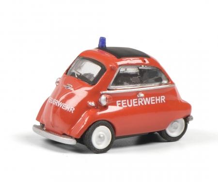 schuco BMW Isetta FEUERWEHR 1:87