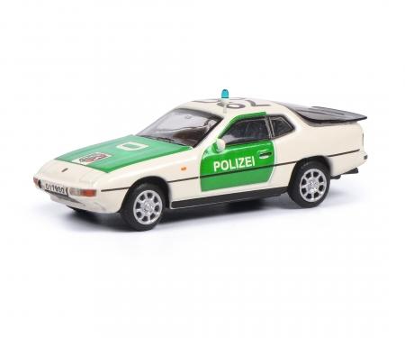 schuco Porsche 924 POLIZEI 1:87