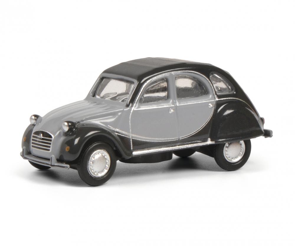 Citroën 2 CV mit geöffnetem Verdeck Art.-Nr 1:87 452632500 Schuco H0 Modell