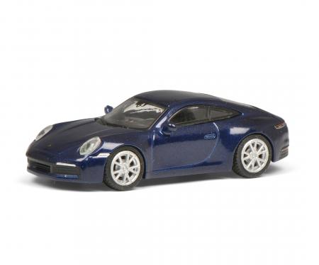 schuco Porsche 911, blue-met. 1:87