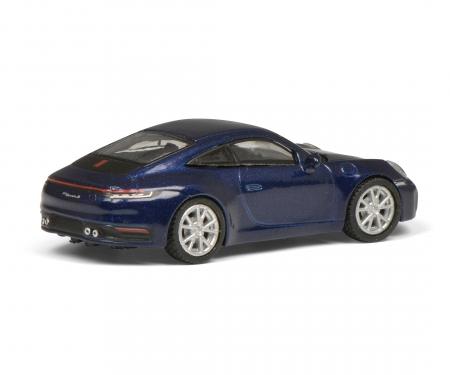 schuco Porsche 911, blau-met. 1:87