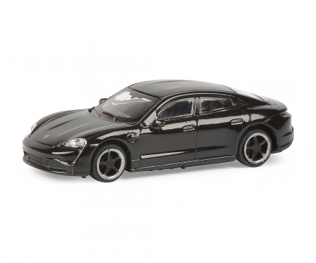 schuco Porsche Taycan, black 1:87