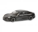 schuco Porsche Taycan, schwarz 1:87