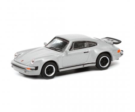 schuco Porsche 911 (930),silver 1:87