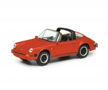 schuco Porsche 911 3.2, red 1:87