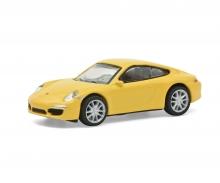 schuco Porsche 911 Carrera S yellow 1:87