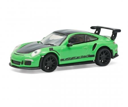 schuco Porsche 911 GT3 RS grün 1:87