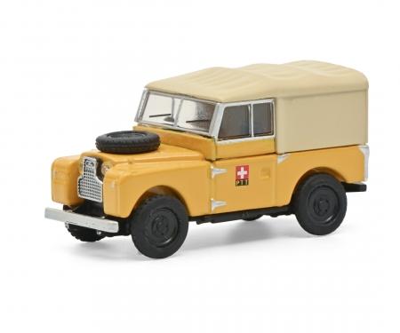 schuco Land Rover 88 PTT yellow 1:87