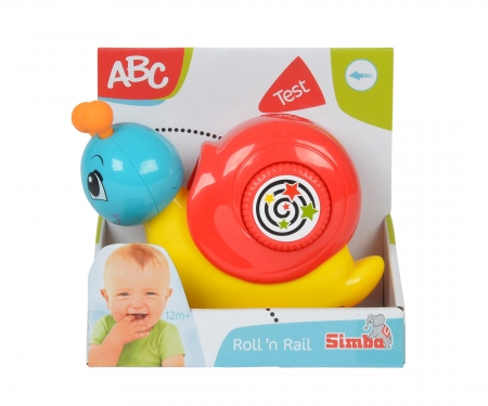 simba ABC Press' n Go Snail