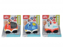 simba ABC Sound Fahrzeuge, 3-sort.