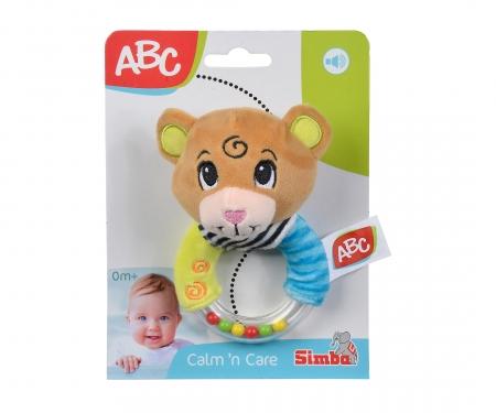 simba ABC Plush Ring Rattle, 2-ass.