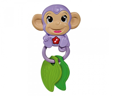 simba ABC Monkey Music Rattle