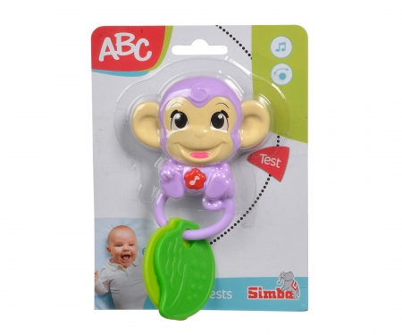 simba ABC Affen Musikrassel
