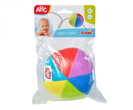 simba ABC Terry Cloth Ball