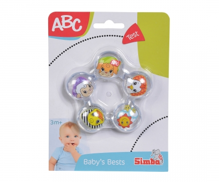 simba ABC Teething Ring with Water Filling