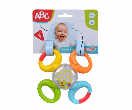 simba ABC Multi-turn Rattle