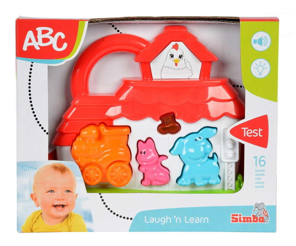 ABC Sound Train Station/Farm, 2-ass  - Laugh'n Learn - ABC