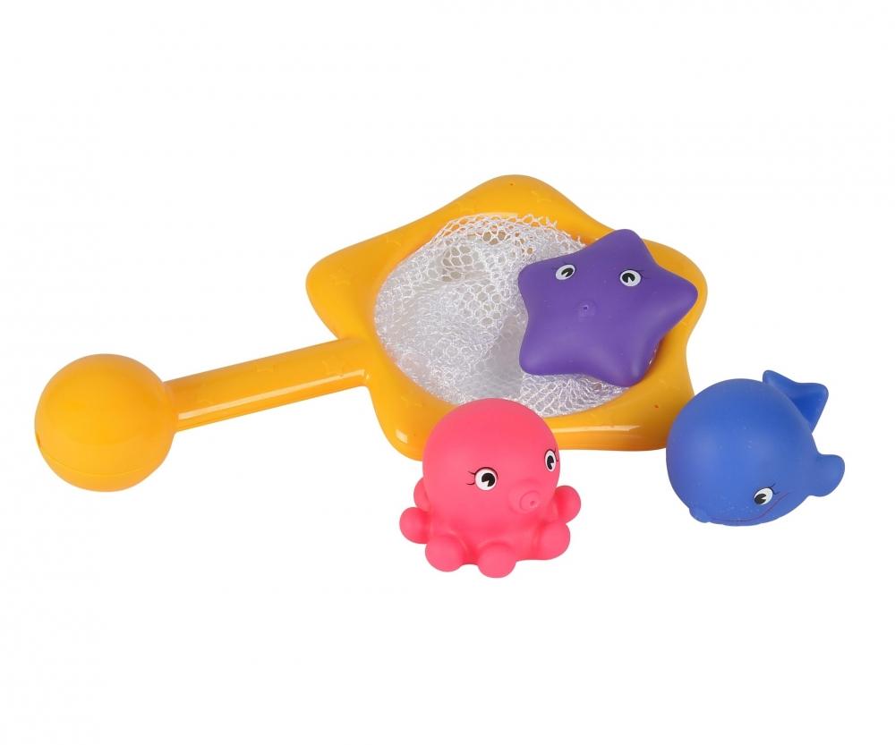 ABC Bathtime Animals with Net, 3-ass. - Baby Bath - ABC - Brands ...