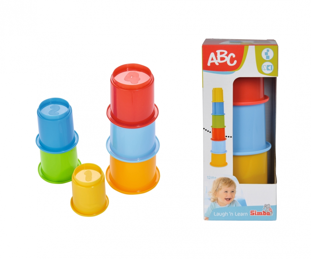 Abc Stacking Cups Laugh N Learn Abc Brands Www