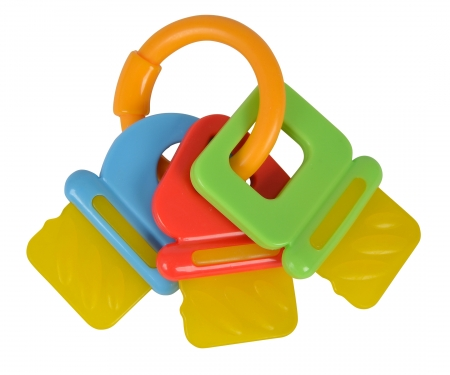 simba ABC Key Ring Rattle, 2-ass.
