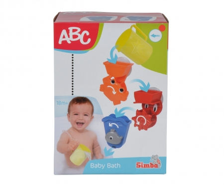 simba ABC Badespielset