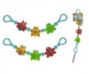 simba ABC Pram Chain, 3-ass.