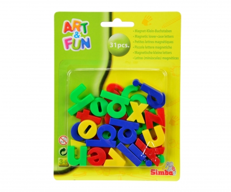 simba Art&Fun Magnetic Small Letters