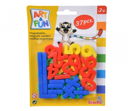 simba Art&Fun Magnetic Numbers/Signs