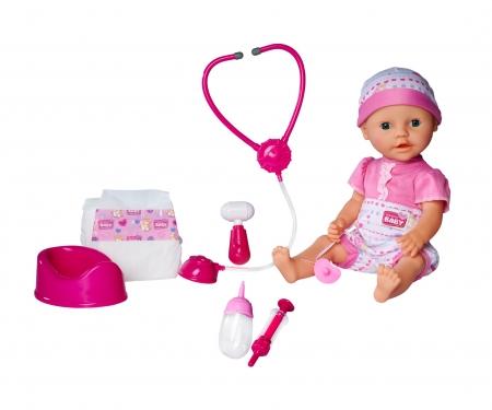 simba New Born Baby Baby mit Doktor Zubehör