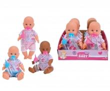 simba New Born Baby Bebè cm.30 in display - 3 asst.