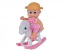 simba BB Little Bonny mit Schaukelpferd