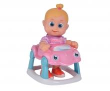 simba BB Little Bonny mit Baby-Walker